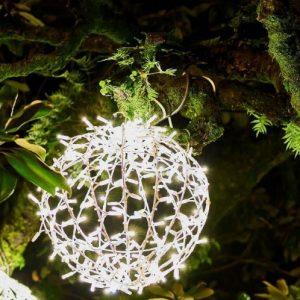 Коледна Украса Светеща Сфера